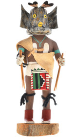 Vintage Hopi Great Horned Owl Kachina 30286
