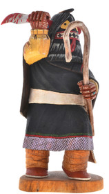 Vintage Hopi Ogre Woman Kachina Doll 30288