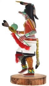 Longhair Redhawk Hopi Kachina Doll 30289