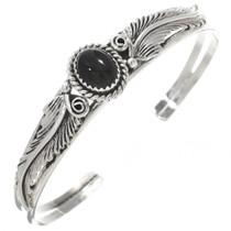 Silver Black Sterling Silver Bracelet 30293