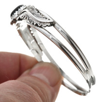 Sterling Silver Black Onyx Bracelet 30293
