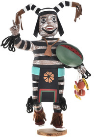 Hopi Hano Clown Kachina Doll 30303