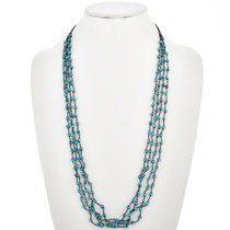 Sweet n' Petite Turquoise Bead Traditional Necklace 30342