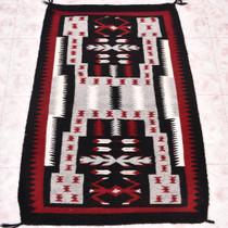Vintage Navajo Storm Pattern Rug 30351