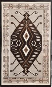 Vintage Navajo Teec Nos Pos Rug 30395