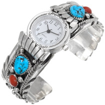 Turquoise Watch Cuff 30398