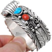 Turquoise Coral Ladies Bracelet 30398