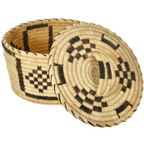 Papago Indian Basket With Lid 30410