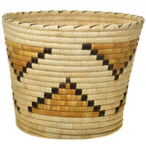 Vintage Papago Indian Wastebasket.30414