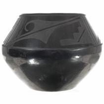 San Ildefonso Black Pottery 0010