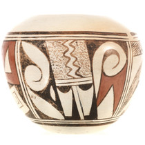 Old Hopi Polychrome Pottery 0001