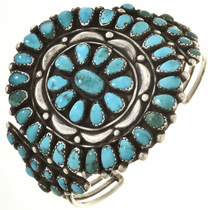 Old Pawn Kingman Turquoise Cluster Bracelet 30471
