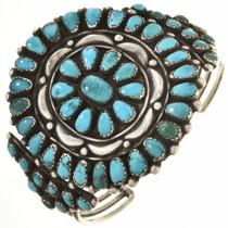 Old Pawn Kingman Turquoise Cluster Bracelet 30471