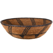 Hand Woven Apache Indian Basket Bowl Early 20th Century 30499