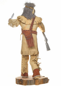 White Man Kachina Doll 30538