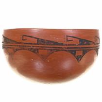 Vintage Hopi Tewa Bowl Rain Pattern by Bessie Namoki 30545