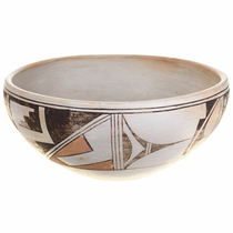 Vintage Hopi Pottery Bowl 30551