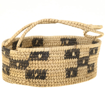 Small Vintage Pima Indian Basket 30572