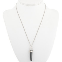 Crystal Sterling Pendant With Chain 30573