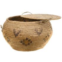 Vintage Paiute Basket Bowl 30574