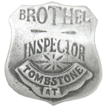 Brothel Inspector Badge 30585