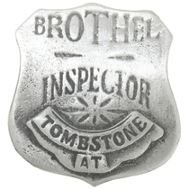 Brothel Inspector Badge 30585