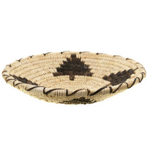 Papago Indian Basket Tohono O'odham Devils Claw Tree Pattern 30588