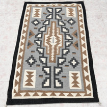 High Quality Vintage Wool Navajo Rug 30605