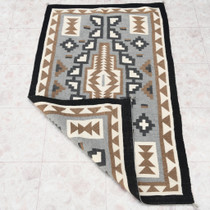 Vintage Two Grey Hills Wool Rug 30605