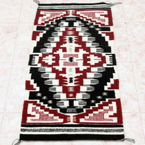 Native American Navajo Tribe Wool Rug 30609