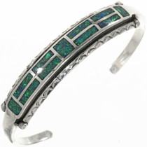 Sterling Silver Opal Ladies Bracelet 30611