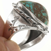 Native American Turquoise Ring 30632