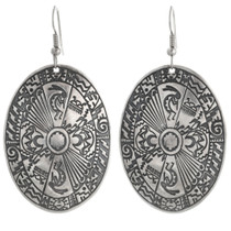 Sterling Navajo Western Earrings 30635
