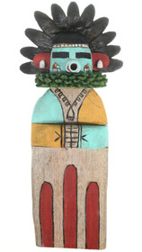 Flat Hopi Kachina Doll Early Morning Singer by Sam Tewa 30648