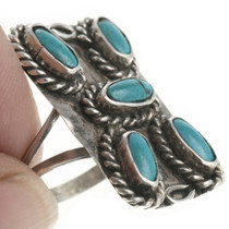 Old Pawn Turquoise Ring 30656
