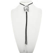 Vintage Overlay Sterling Silver Bolo Tie 30702