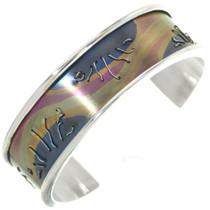 Vintage Navajo Silver Cuff Bracelet