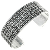 Native American Silver Bracelet 30746