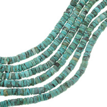 Beaded Turquoise Heishi Beads 30805