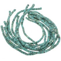Tibetan Turquoise 7mm Heishi Necklace Jewelry Supply 30805