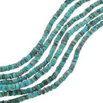 Tibetan Turquoise Heishi Bead Strand 30808