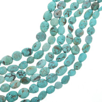 Large Oval Turquoise Beads 30812