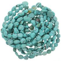 Tibetan Turquoise Bead 16 inch Strand 30812