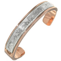 Silver Copper big Boy Bracelet 30768