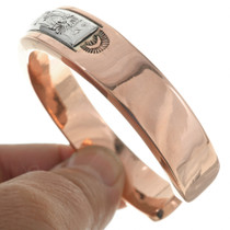 Thick Solid Copper Handmade Bracelet 30768