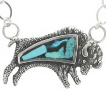 Turquoise Buffalo Necklace 30795