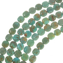 Turquoise Pillow Beads 30815