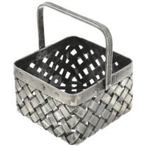 Sterling Silver Basket 30796
