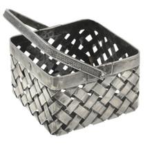 Vintage Silver Basket 30796