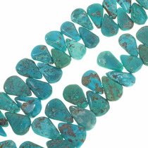 Turquoise Teardrop Beads 30817